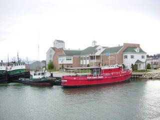 Fire Boat Tour Sturgeon Bay